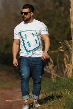 Camiseta Hombre Pacific Blue