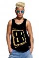 Camiseta tirantes Dark Gold Unisex