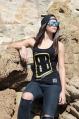 Camiseta tirantes mujer DARK GOLD